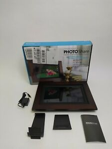 SimplySmart Home FSM010ES 10.1 in PhotoShare  Frame High Def Touchscreen