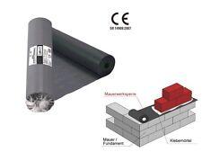 50 Meter x 25cm Mauerwerksperre Fundament PVC 0,3mm Mauersperre horizontal