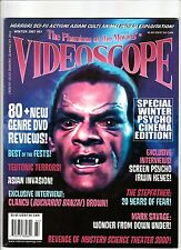 VIDEOSCOPE Horror Magazine #61 HORROR Sci-Fi ASIAN CULT CINEMA Irwin Keyes 2007