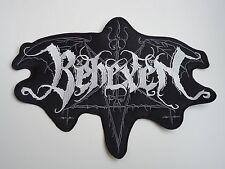 BEHEXEN EMBROIDERED LOGO BLACK METAL BACK PATCH