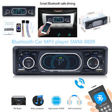 Car Digital Stereo Audio Player Dual USB Charging AUX/SD/FM/WMA/MP3/WAV Radio