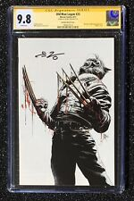 Ed Brisson CGC 9.8 SS Mike Deodato Old Man Logan #25 Sketch Virgin cover Maestro