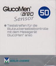 NEU - Gluco Men Areo Sensor Blutzucker-Teststreifen 50 Stück neu+OVP v. Fachhdl.