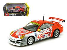 "Porsche 911 GT3 RSR #45 ""Flying Lizard"" 1:24 Diecast Model by Bburago 28002sr"