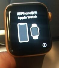 APPLE WATCH SERIES 5 GPS 40MM GOLD CASE- BLACK BAND