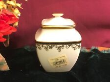 Lenox Eclipse Sugar Bowl Square NEW $212 USA 1stQ Free Shipping