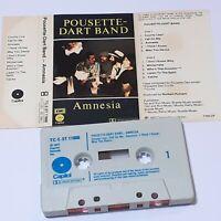 POUSETTE-DART BAND AMNESIA 1977 CASSETTE TAPE ALBUM COUNTRY FOLK SOFT ROCK