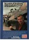 1979 AIR NATIONAL GUARD Recruiting Mechanics DAVID JANSEN Vintage Print Ad