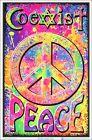 Coexist Blacklight Poster 23 x 35