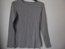 LADIES ATMOSPHERE GREY LONG SLEVE TOP