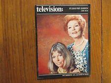 June-1972 St. Louis Post-Dispatch TV Magazi(PAT MORROW/EVELYN SCOTT/PEYTON PLACE