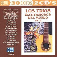 Various Artists : Trios Mas Famosos Del Mundo 2 CD
