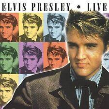 """ELVIS PRESLEY, CD """"LIVE"""" NEW SEALED"""