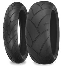 180/55-17 & 120/70-17 Shinko 005  Sports Tyres Pair ZX 6 10 R6 GSXR CBR 600 1000