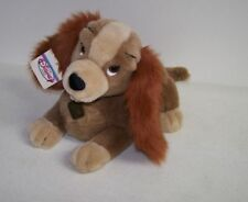 "New 14"" Disney Store Lady & The Tramp ""Lady"" Cocker Spaniel Puppy Plush w/ Tag"