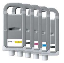 5 x inchiostro per Canon ipf810 ipf815 ipf820 ipf825/pfi-703 MBK BK C M ycartridges