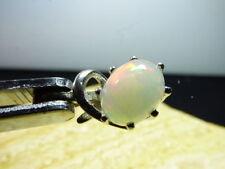 Natürliche Echtschmuck-Halsketten & -Anhänger aus Sterlingsilber Opal