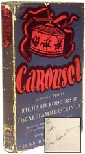 Oscar HAMMERSTEIN - Carousel A Musical Play - FIRST EDITION - PRESENTATION COPY!