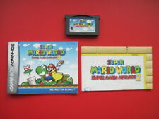 Super Mario World: Mario 2 with Manual Game Boy Advance *Authentic & Saves*