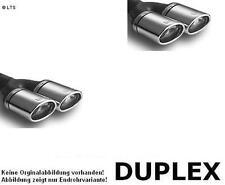 Ulter Duplex Scarico Sportivo 2x 95x65 VW Golf 5 1.4l-2.0l