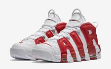 2016 Nike Air More Uptempo Gym Red OG Size 14. 414962-100 Jordan Pippen Kobe