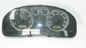VW PASSAT INSTRUMENT CLUSTER SPEEDOMETER KMH 3B0920926A
