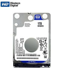 "WD 2.5"" 1TB SATA Internal Hard Disk Drive 1000GB For Notebook PS3 Macbook Laptop"
