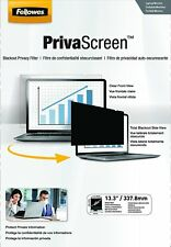 FELLOWES privascreen PRIVACY FILTER 13.3 - inch WideScreen 16:9