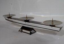 Vintage  60's -  Plexi Glas Agryl Designer Kerzenhalter Kerzenleuchter ~60er