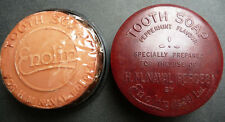 1926 HM NAVAL FORCES TOOTH SOAP Bakelite Box with Soap