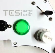 Tesi DITO Snap-in 24MM Guitar Arcade Button Kill Switch Translucent Green