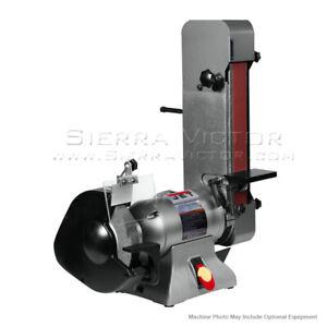 JET IBGB-248VS Variable Speed Combination Bench Grinder and Belt Sander 577248