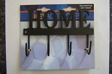 "Decorative Home Key Hook Hanger Rack Holder Wall Decor 5-1/2""X3-1/2"""