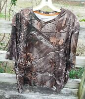 Realtree AP Camo Hunting Short Sleeve Camo Camouflage Outdoor T Shirt Mens 2XL