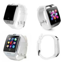 Bluetooth Q18 Smartwatch for Android iPhone WHITE