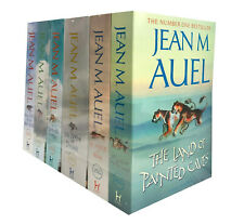 Jean M Auel Earths Children Series 6 Books Collection Land of Painted Caves