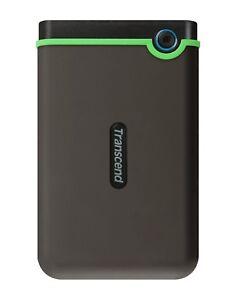 Transcend 1TB StoreJet M3 One Touch Auto-Backup USB 3.0 External Hard Disk Drive