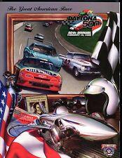 Daytona 500 February 15 1998 Official Program EX 061317nonjhe