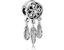 Pandora ORIGINALE argento spirituale ACCHIAPPASOGNI lasciar Penzolare Charm S925 ALE