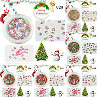 Manicure Wood Pulp 11 Mixed Nail Ornament Christmas Patch Nail Art Accessories