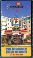 3rd Edition Legoland Florida Pressed Penny Book With Coin Available Nowhere Else