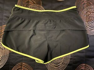 Lorna Jane Active Womens Size S 8 Ladies Gym Shorts Black Sportswear Lining