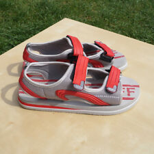 Light and Soft Beach sandals Size 5 UK 38 EUR Red and Grey colour
