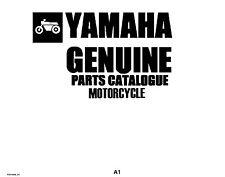 Yamaha Parts Manual Book 1993 Fazer FZR1000E_EC