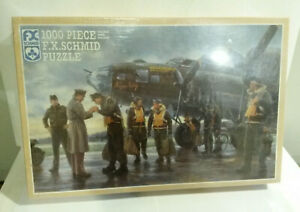 Schmid Coming Home England 1943 WWII Gil Cohen Puzzle 1000 pc NOS sealed