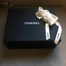 Chanel magnetic box with Tissue Paper, Ribbon & Camellia 31 x 20 x12cm