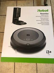 NEW iRobot - Roomba i3+ (3550) Wi-Fi Robot Vacuum Automatic Dirt Disposal