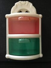 Vintage FISHER PRICE 1994 Chest of Drawers Doll House Toy Dresser Pink Blue 4811