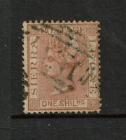 Sierra Leone SG# 34 Used / Light Top Crease - S3021