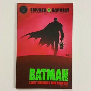 BATMAN LAST KNIGHT ON EARTH 1 NM CAPULLO COVER A (2019, DC COMICS)